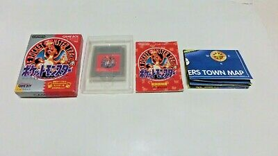 Complete Pokemon Red Version (Nintendo Game Boy) GBC Japan Pocket Monsters F/S