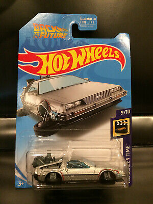 2019 Hot Wheels Delorean Back To The Future Time Machine Hover Mode