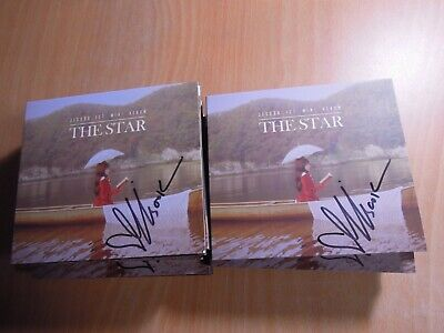 JISOOK - The Star (1st mini Promo) with Autographed (Signed) 0.99