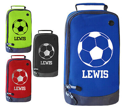 Personalised Childrens Football Boot Bag Boys Footy Ball Kids Sports Rugby  Kit