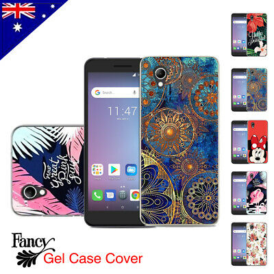 For Telstra Essential Plus Case Soft Gel TPU Flexible Fancy Colourful Cover