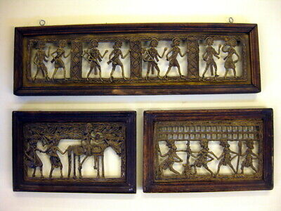 3 Reliefs, Native Art, Indien