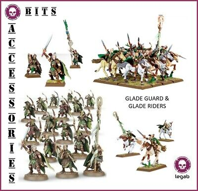 Bits Aelves Glade Guard Glade Riders Wood Elves Warhammer Aos