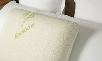 New Tontine Comfortech Memory Foam Pillow With Bamboo Cover By OZSALE