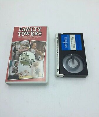 Vintage Betamax Video Cassette Tape - Fawlty Towers - The Kipper and the Corpse.