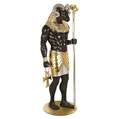 "74"" Ancient Egyptian God Anubis Grand Ruler Collection Life-Size Sculpted Statue"