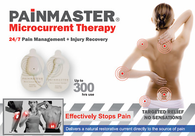PAINMASTER Micro current Patches -  Pain Relief FDA Approved