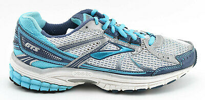 6ec89f450ee Womens Brooks Adrenaline Gts 13 Running Shoes Size 7.5 Us 38.5 Eu White Blue