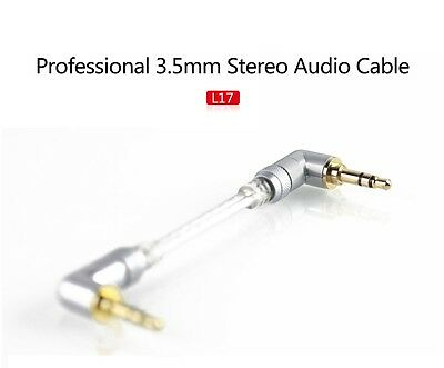 Fiio L17 L-Shaped -  Professional 3.5mm Stereo Audio Cable