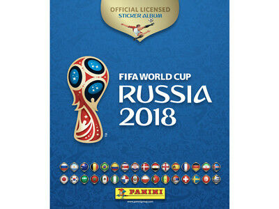 Panini Fifa World Cup Russia 2018 Sticker Book With 6 Free Stickers Free Postage