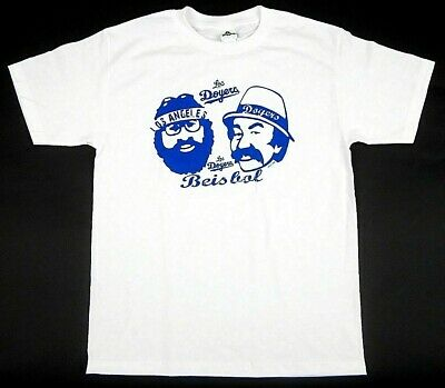 CHEECH AND CHONG Up and Smoke Los Angeles Men's White Tee T-Shirt Small NWT