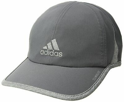 fca6923274b Adidas Mens Golf Sports Peak Cap Baseball Running Hat 3 Stripes Logo  Adjustable.