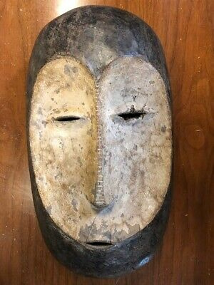 African mask - Ibbio Tribe - Yoruba - collectible , African art