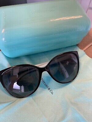 351df14e2678 Tiffany And Co. Women s Polarized TF4089B-8055T3-58 Blue Butterfly  Sunglasses