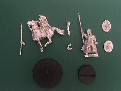 Games Workshop Citadel Lord of the Rings Lotr Eorl the Young Ft and Mtd Metal