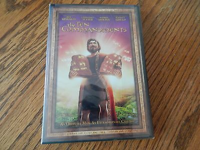 """The Ten Commandments""; w/voice of Ben Kingsley; Animated/DVD/Brand New"