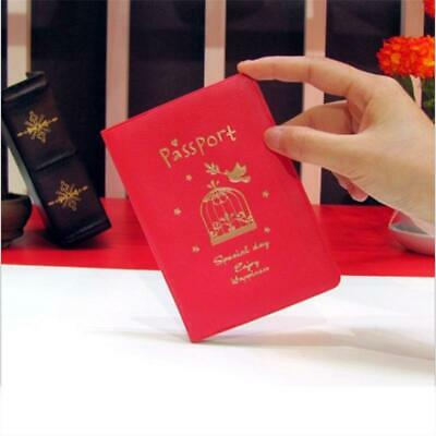 Passport Cover Travel Holder Wallet Organiser Protector Rfid PU Leather Bag DD