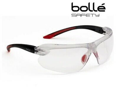 Bolle IRI-S Platinum Clear Safety Glasses Designed to Fit Every Face IRIPSI