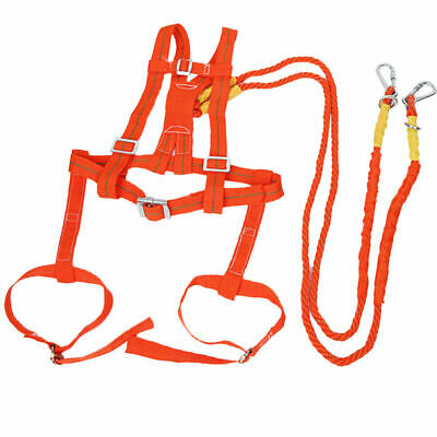 EG_ Polyamide Alloy alloy Full Body Safety Work Harness Fall Arrest Personal pro