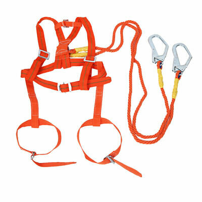 EG_ Polyamide Alloy Metal Full Body Safety Work Harness Fall Arrest Personal pro