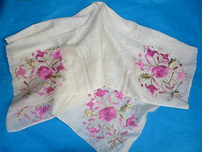 Old Antique Embroidery From Greece Beggining Of 19Th Century