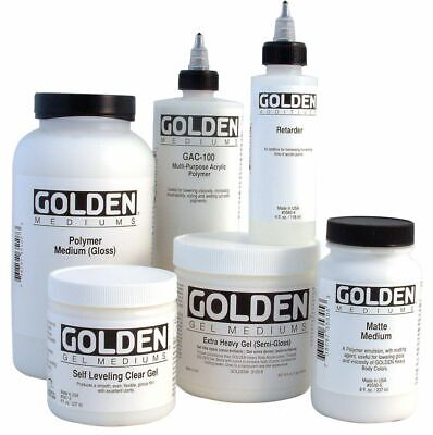 Golden Acrylic Gel Mediums Paste And Liquids Mediums QUALITY (Combined Postage)