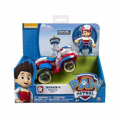 Paw Patrol Ryder ATV Vehicle And Figure