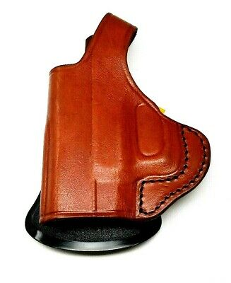 TAGUA LEFT HAND LEATHER brown HOLSTER for TAURUS MILLENNIUM PRO G2c 9mm  Paddle