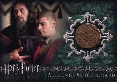 Harry Potter and the Goblet of Fire Viktor Krum Costume Card HP C4 #432/700