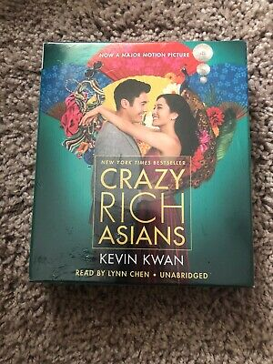 BRAND NEW~ Crazy Rich Asians AUDIOBOOK Book on CD Unabridged ~by Kevin Kwan