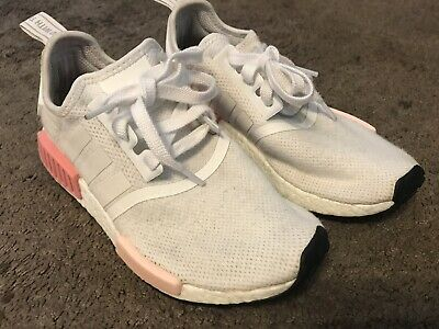0c6257612fd28 Adidas NMD R1 Runner Mesh BY9952 Icy Pink White Rose Women s 6.5 Size