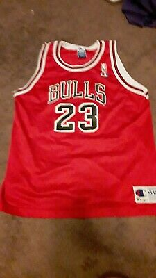 b30ad8977ecd Vintage Champion Michael Jordan Chicago Bulls Jersey Youth XL 18-20