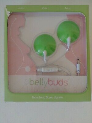 Bellybuds Baby Bump Headphones Belly Buds Sound System Play Music Pregnancy Gear