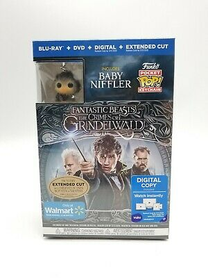 Fantastic Beasts Crimes of Grindelwald Walmart Exclusive Funko Bluray DVD