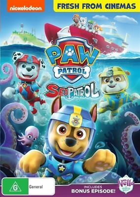 Paw Patrol - Sea Patrol : NEW DVD