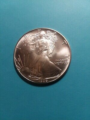 1986 American Silver Eagle, BU++, Beautiful Coin, The Best!!