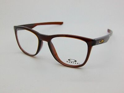 d31937e095 NEW Authentic OAKLEY TRILLBE X OX8130-0452 Polished Rootbeer 52mm Rx  Eyeglasses