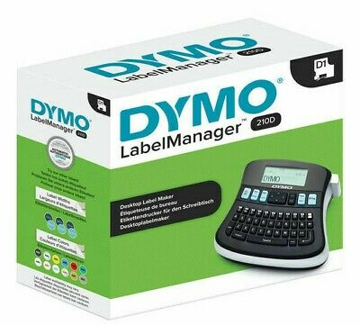 DYMO LabelManager 210D All Purpose Label Maker w/ QWERTY Keyboard LMR-210D