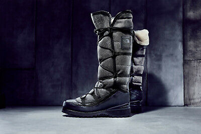 9d641785f THE NORTH FACE Womens Cryos Winter Boots, Vibram Calfskin Italian ...