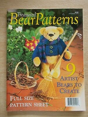 Treasured Bear Patterns~9 Projects~Toffee~Montague~Marmalade~Pearl~Big Polar...