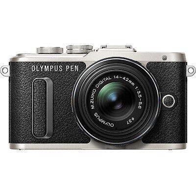 Olympus PEN E-PL8 Mirrorless Micro Four Thirds Digital Camera with 14-42mm Lens