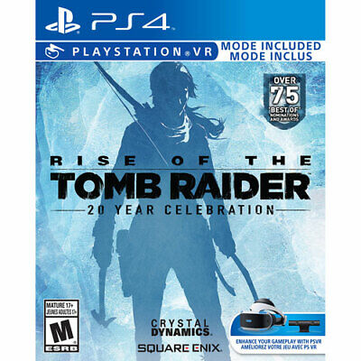 Rise of the Tomb Raider: 20 Year Celebration (Sony PlayStation 4, 2016) VR