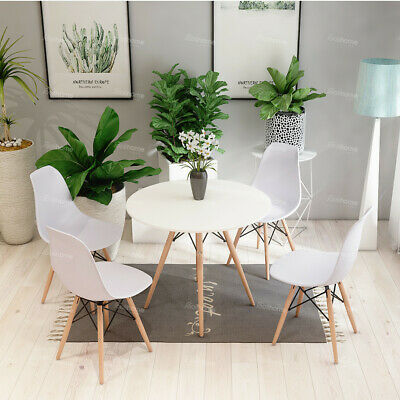 Dsw 60 80cm Round Dining Table And 2 4 Chairs Optional