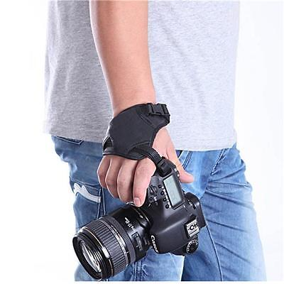 DSLR Camera Leather Grip Wrist Hand Strap Canon Nikon Sony Olympus SLR DSLR LE