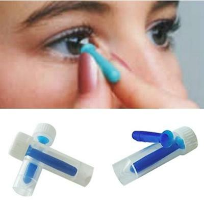 Contact Lens Remover Tool Inserter Applicator Plunger Suction Cup Gripper Helper