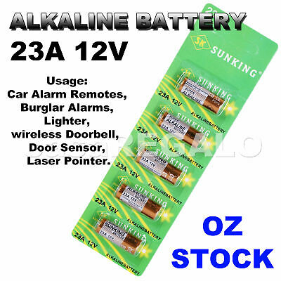 23A 21/23 A23 23A 23GA 12V Alkaline Battery for Garage Car Remote Alarm