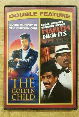 Harlem Nights / Golden Child (DVD, 2013, 2-Disc Set) Double Feature