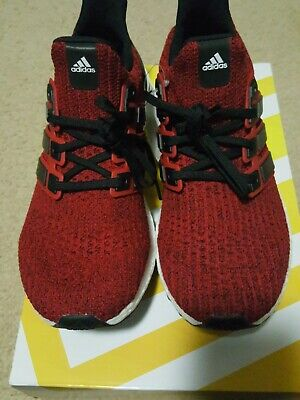 EE3703  Mens Adidas UltraBOOST - Power Red Core Black Cloud White Ultra f0794cc71