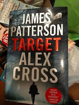*NEW* James Patterson TARGET, ALEX CROSS Hardcover Book!! 2018 Edition