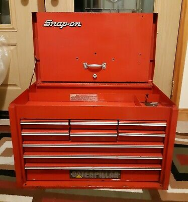 Snap On Heavy Duty Steel Mechanics 9-Drawer Tool Box Chest-Excellent Shape